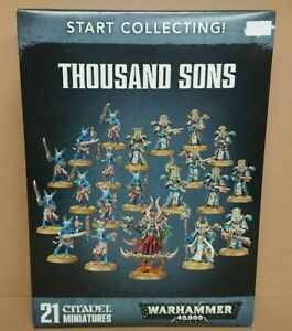 RARE Warhammer 40k 70-55 Thousand Sons 21 Citadel Miniatures NEW