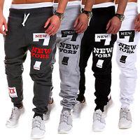 Mens Gym Sport Jogger Pants Tracksuit Bottoms Casual Jogging Trousers Sweatpants