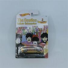 Hotwheels Beatles Yellow Submarine Fast Felion Ringo Starr Car