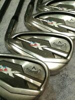 Individual Callaway XR Cup 360 Irons Graphite Project X Regular Shaft Pick Club