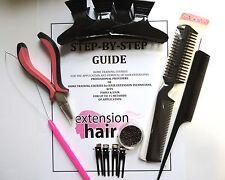 Micro Anelli Extension capelli Passo Da passo Home allenamento Kit