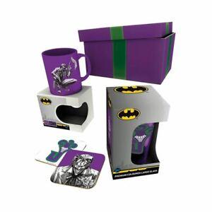 DC Comics The Joker Drinkware Gift Box