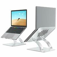 Laptop Stand , Ergonomic Height Angle Adjustable Laptop Holder,Aluminum