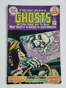 Ghosts #28 (1974) VG 4.0 DC Comics Bronze Age Horror Suspense Mystery!