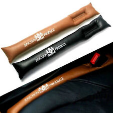 2 x New BLACK JUNCTION PRODUCE LEATHER JP VIP CAR SEAT LEAKPROOF SEAM GAP FILLER