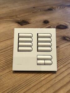 Lutron Grafik Eye Keypad - ERGX-8S-WH Light Dimmer Switch