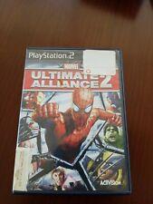 Ultimate Alliance 2 marvel Ps2