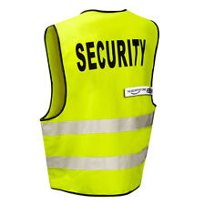 SECURITY High Viz Visibility Safety Vest (Zip Front) THE-SECURITY-STORE