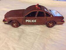Police Squad Car Wooden Model Car Ford Interceptor