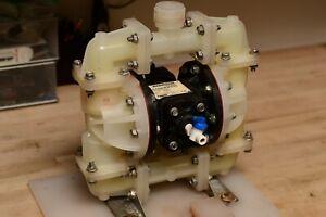 Sandpiper S07B1P2PPNS000 Double Diaphragm Pump 23 gpm Max. Flow PTFE 100PSI