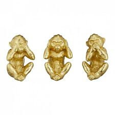Affen - nichts hören - nichts sehen - nichts sagen... Dekofiguren Firguren Deko