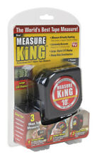 Measure King  As Seen On TV  3-in-1 Digital  Tape Measure  Plastic/Metal/LCD