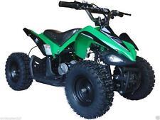 Four Wheeler For Kids ATV Green Mini Quad Dirt Bike Ride On Electric Battery 24V