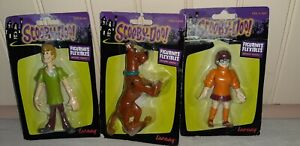 figurines 5 personnages SCOOBY DOO + mystery machine (neuves)