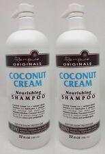 2 Renpure Originaux Noix de Coco Crème Nourrissant Shampooing 32 Fl OZ