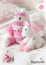 Knitting Pattern Stylecraft 9276 Toys DK 2 designs Unicorns