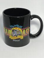 THE BAD ASS COFFEE COMPANY MAUI GRAPHIC LOGO MUG/CUP BLACK COCOA/TEA