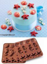 STAMPO CIOCCOLATINI IN SILICONE SMO 07 SEA LIFE di SILIKOMART CAKE DESIGN