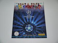 Panini sticker Uefa Champions League 2013-2014 UCL empty sticker album