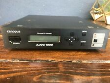 Canopus ADVC-1000 Advanced DV Converter - NOT TESTED