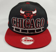 New Era NBA Chicago Bulls Snapback Hat Cap Windy City HWC Medium-Large NWT