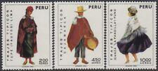 Perù A-343/45 1973 vestiti tipico MNH