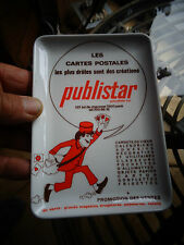 Ancien Vide Poche des Cartes Postales Publistar illustrateur à identifier