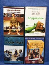 Dvds Lost In Translation, Adaptation, The Squid And The Whale, Running wScissors
