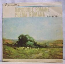 """33T GEORGE ENESCU Disque LP 12"""" RAPSODIILE ROMANE POEMA ROMANA -ELECTRECORD 0817"""