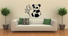 Wall Sticker Vinyl Decal Cute Panda Animal Bamboo Room Decor (ig1189)