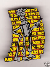 TIN MAN Wizard of OZ Yellow Brick Road TIN WOODSMAN Lapel Pin