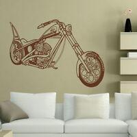 HARLEY BIKE MOTORBIKE MOTOR WALL ART STICKER DECAL giant stencil vinyl mural MO9