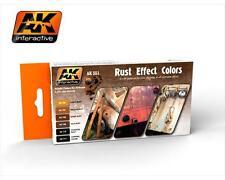 AK Interactive: Colori per Effetti Ruggine / Rust Effect Colors (AK 551)