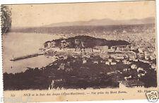 06 - cartolina - NICE et la Baia di Angeli - Vista prise Monte Boro