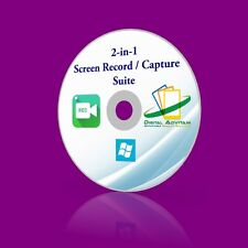 2-in-1 Screen Record Capture Suite Screenshot Recording Video Image Windows PC