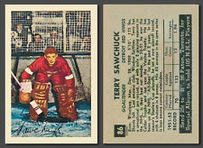 Terry Sawchuck #86, Reprint, Parkhurst 1952-53 mint condition