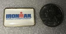 Vintage Ironman Hawaii World Triathlon Collectors Annual Pin 100% Original