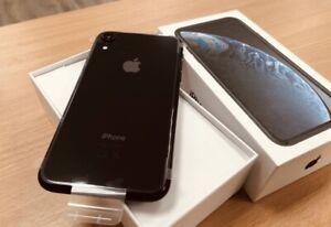 iPhone XR 64 gb Black New Unlocked
