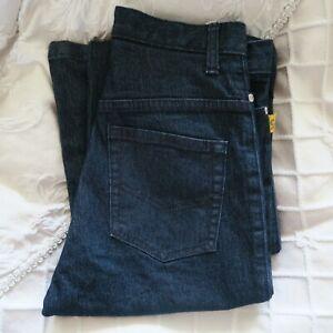 BETTINA LIANO Vintage 90s Jeans Dark Wash Denim Flared Size 28