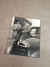 Bing Crosby Mercedes Benz Photograph Super Rare Roger Barlow Old 50's Picture