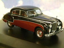 OXFORD DIECAST 1/43 1959-61 JAGUAR MKIX MK9 BLACK OVER IMPERIAL MAROON JAG9004