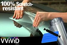 VViViD Clear Paint Protection Bulk Vinyl Wrap Film Including 3M Squeegee and ...