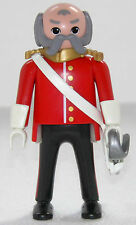 ROYAL GUARD GENERAL OFFIZIER Playmobil zu Super 4 Brite Soldaten 4577 Garde 624
