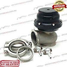44MM V BAND WASTEGATE BLACK 14 PSI TiAL STYLE V44 Air Cooled 1 Year Warranty