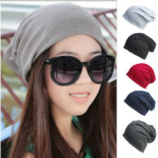 Women Men Fashion Knitted Winter Warm Oversized Ski Slouch Hat Cap Baggy Beanies