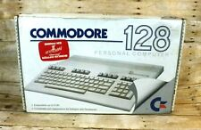 Commodore 128 Computer w/ Power Supply, Cables, Paperclip II - Tested & Working