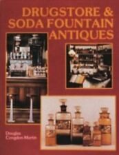 Drugstore and Soda Fountain Antiques w over 240 photographs & line drawings