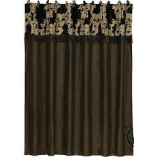 Western Cowhide Shower Curtain With FREE Hooks and Shipping!