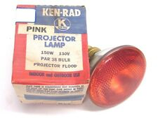 KEN-RAD PINK, 150 WATT PAR 38 PROJECTOR BULB, FLOODLIGHT