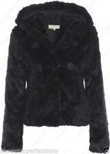 Manteaux et vestes noire en fourrure pour femme taille 40